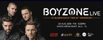 Boyzone 25th Anniversary World Tour Industry Relevant