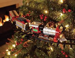 Home Accents Holiday Christmas Tree Train Set With 9ft Track Holiday Home Accents Christmas Tree