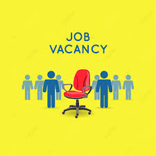 Job Vacancy, Job Clipart, Blue, Yellow PNG and Vector with Transparent  Background for Free Download