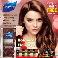 france phyto botanical hair colour dye 100 perfect coverage with long lasting results even on sensitive scalp achieve baby smooth hair without hair mask