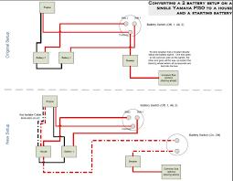 battery switch wiring diagram on wiring diagram for 2 batteries on a Amp Gauge Wiring Diagram at 4 Wire Marine Volt Gauge Wiring Diagram