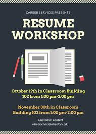 Resume Workshop Best 566 Resume Workshop 24 Ifest