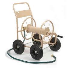 garden hose caddy. Liberty Garden 300 Ft. Four Wheel Industrial Hose Cart-870 - The Home Depot Caddy