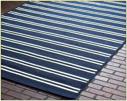 blue and white striped rug 8x10 navy