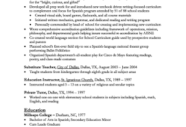 Resume For Teacher Sound Engineer Cover Letter