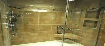 tile shower pan kit floor tiling pans elegant base and walls wall kits