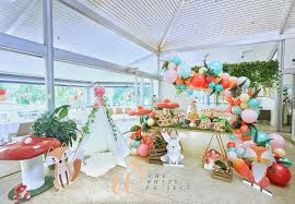 garden wonderland birthday party feature