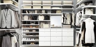 elfa walk in closet inspiration