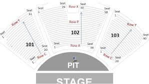 Molson Amphitheatre Seating Chart