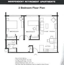 Two Bedroom Apartment Plan Creative