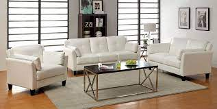 madrid sofa and loveseat set white