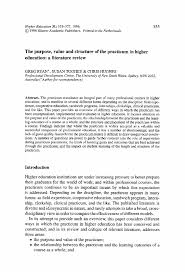 purpose of literature review purpose of the literature review the nature and purpose of a literature review