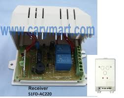wireless remote control a linear actuator on cabinet door carymart here is the circuit diagram of receiver you can connect the linear actuator to output terminal of receiver then supply power to receiver by connecting