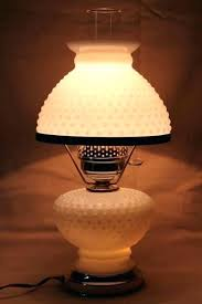 lamp shades hobnail milk glass lamp shade vintage lamps table student w fent