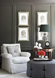 gorgeous gray living room. Decorating Gorgeous Gray Rooms Traditional Home Also European Chair Wall Art. « Living Room