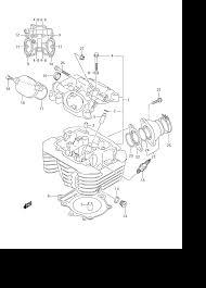 Suzuki king quad parts diagram beautiful 2008 suzuki king quad 400 lt a400 cylinder head parts