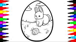 Easter Coloring Pages Eggs For Kids And Projectelysiumorg