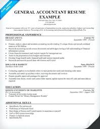Professional Accountant Resume Accounting Cover Letter Sample