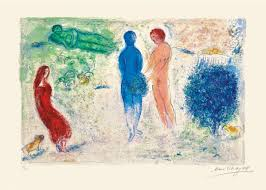 marc chagall chloé s judgment martin lawrence galleries