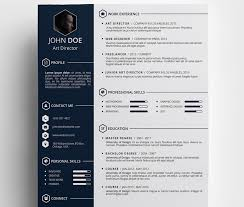 Creative Resume Templates Free Download Best 25 Cv Template Ideas On