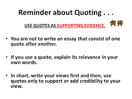 in other words rdquo quoting summarizing and paraphrasing student 4 reminder