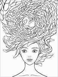 Girl Hair Coloring Pages Unique Coloring Short Hair Tourmandu Coloring