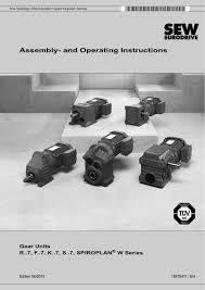 embly and operating instructions 1 136 pages