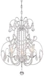 3 light mini chandelier