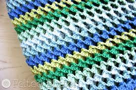 Crochet Patterns Blanket Custom Felted Button Colorful Crochet Patterns Irish Sea Blanket Crochet