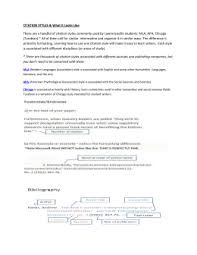 chicago style short paper example citation styles what it looks like there are a handful of