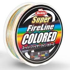 Fireline Diameter Chart Berkley Super Fireline Colored Braided Lines 200m 400m
