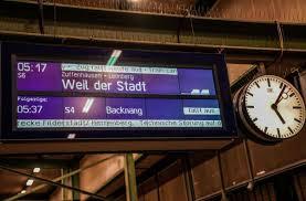 Maybe you would like to learn more about one of these? Region Stuttgart So Wirkt Sich Der Streik Der Deutschen Bahn Aus Region Stuttgarter Zeitung