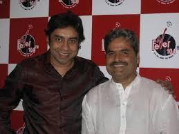 RJ Anurag Pandey with Vishal Bhardwaj in Fever 104 FM, Mumbai studios! About Fever 104 FM: FEVER 104 FM is collaboration between T Media Ltd. and Virgin ... - vishalbardwag