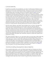 culture identity essay cultural identity essay examples kibin