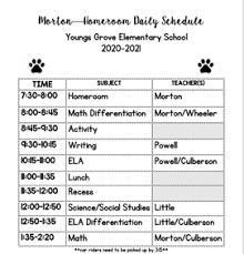 Leanna Morton - Youngs Grove Elementary School