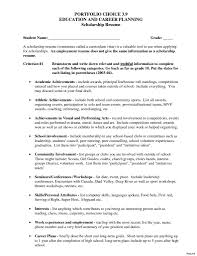 Scholarship Resume Template Beauteous College Scholarship Resume Template Best Of Academic Scholarship