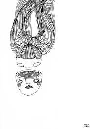 Edgy Illustration Off The Wall Mind Provoking Flora Y Luna