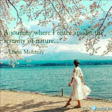 A Journey Where I Enter A Quotes Writings By Disha Mohanty
