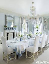 20 tranquil blue and white dining room design ideas