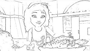 Friends Lego Coloring Pages Coloring Page Lego Friends Olivia