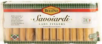 Lady fingers recipe | the cake part of tiramisu. Bellino Savoiardi Lady Fingers 7 Oz
