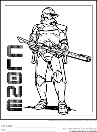 Small Picture Star Wars Clone Wars Coloring Pages Free Printable Star Wars