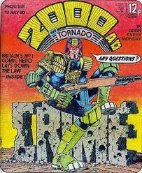 john wagner judge dredd ilrated by mike mcn from 2000 ad