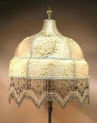 chandelier lamp shades beaded lamp shades antique floor lamps beaded lamp shades by antique artistry how chandelier lamp shades