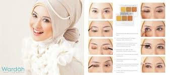 simple party make up by wardah