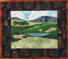 Golf Quilt pattern | crafts | Pinterest | Golf quilt, Golf and ... & Accidental Landscape Series - Golf Courses – Quilting Books Patterns and  Notions Adamdwight.com