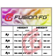 Jiu Jitsu Kimono Size Chart Fusion Fight Gear Street Fighter Blanka Bjj Gi Retired