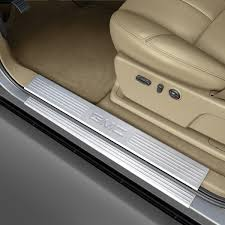 gmc logo 2014. door sill plates or step shields front gmc logo 2014