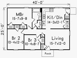 small house floor plans under 1000 sq ft inspirational small house plans under 1000 sq