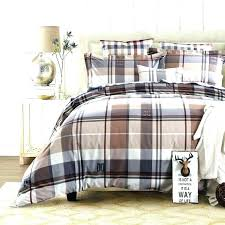 cuddl duds red plaid flannel duvet cover set queen covers king bedding cotton fabric checd for